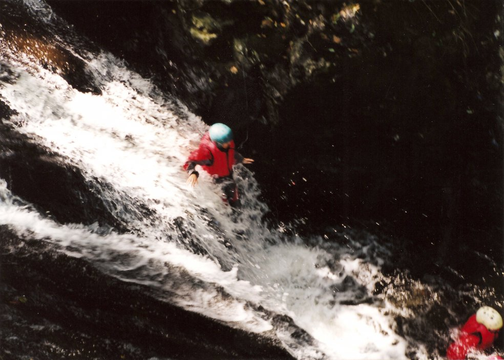 Adventure North Wales Canyoning