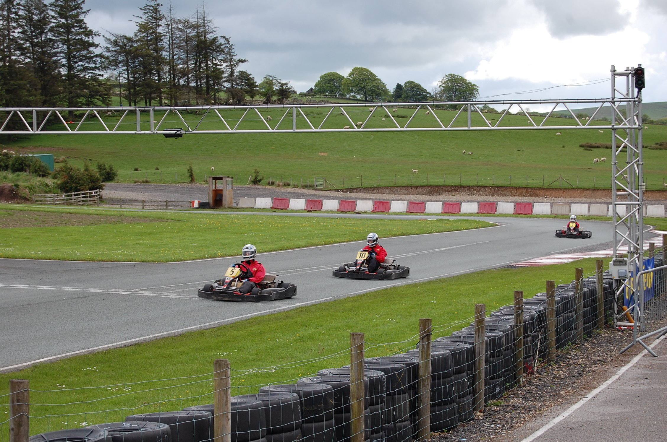 Adventure North Wales Go Karting Track