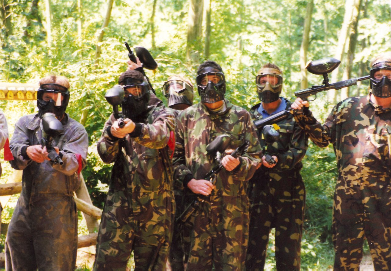 Adventure North Wales paintball group