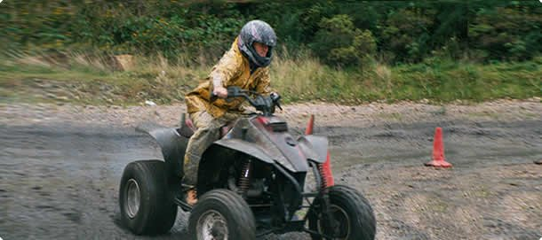Quad Bike activity North Wales