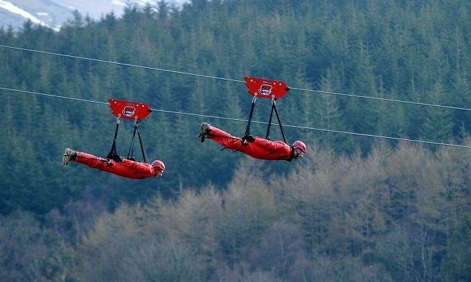 ZipWorld activity North Wales